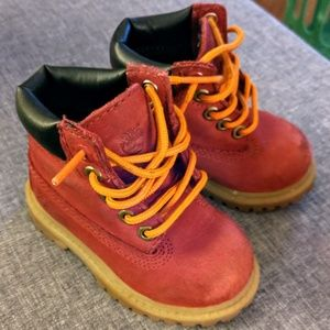 Timberland Boots Toddlers Size 4